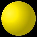 Pulsante alzacristalli led giallo
